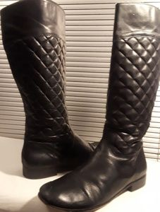 Size 11 Corso Como Santona Quilted Leather Boots